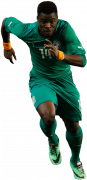 Serge Aurier football render