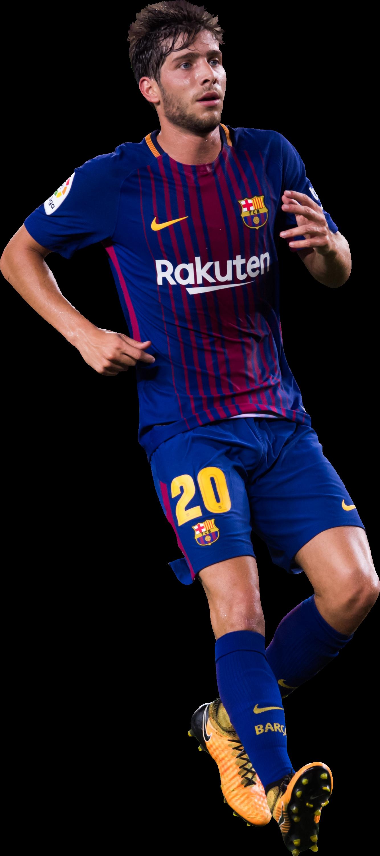 Sergi roberto football render 41801 footyrenders - Render barcelona ...