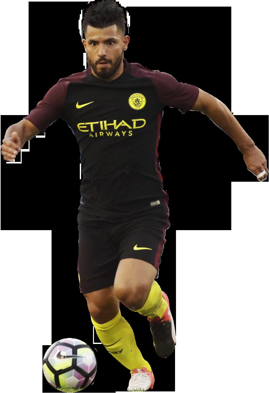Sergio Aguero football render - 28582 - FootyRenders