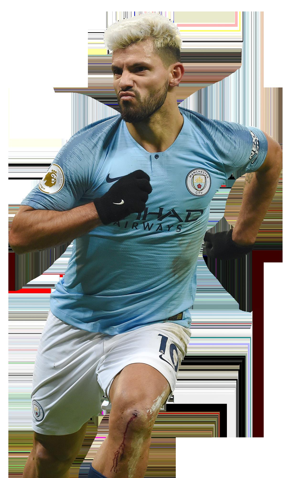 Sergio Aguero football render - 52027 - FootyRenders