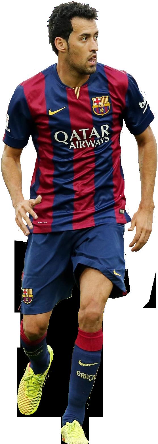Sergio busquets football render 7209 footyrenders - Render barcelona ...