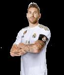 Sergio Ramos football render