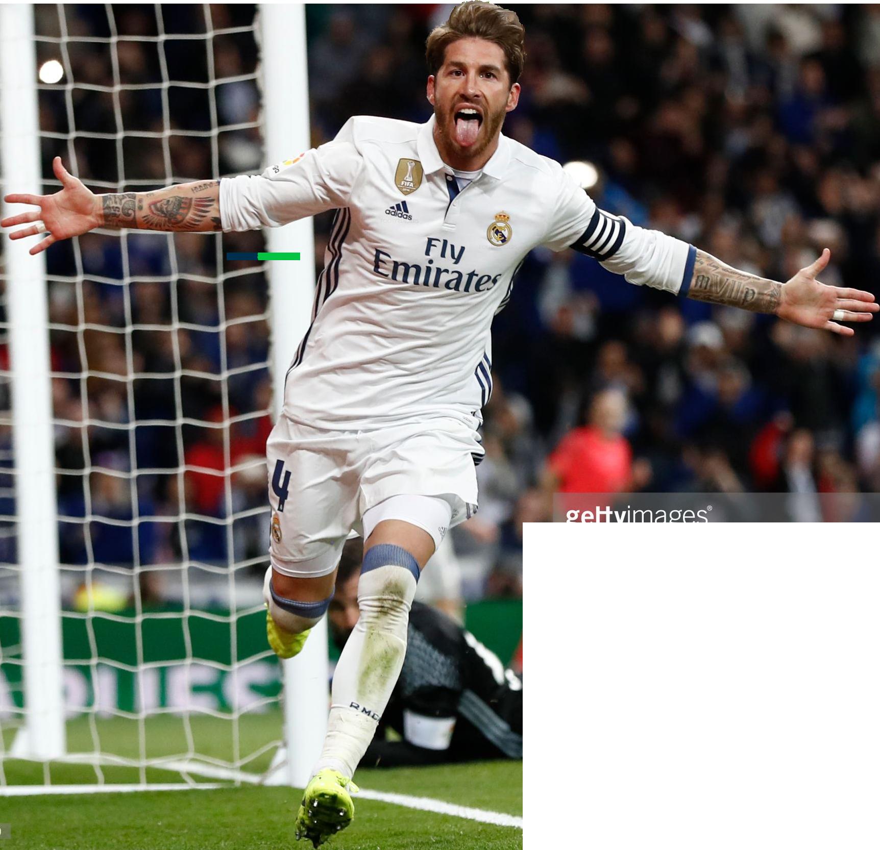 Sergio Ramos football render - 35062 - FootyRenders