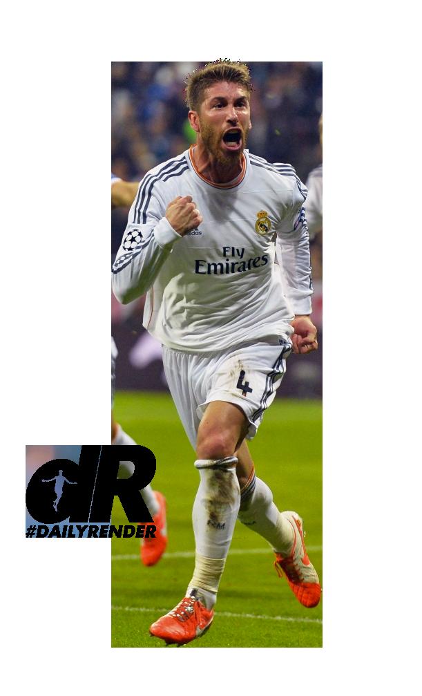 football render - - FootyRenders Sergio Ramos 2956