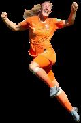 Stefanie Van der Gragt football render