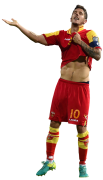 Stevan Jovetic football render