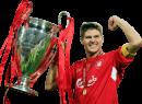 Steven Gerrard football render