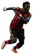 Sulley Muntari football render