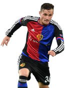 Taulant Xhaka football render