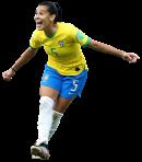 Thaisa De Moraes football render