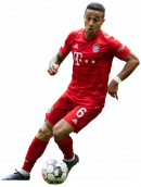 Thiago Alcantara football render