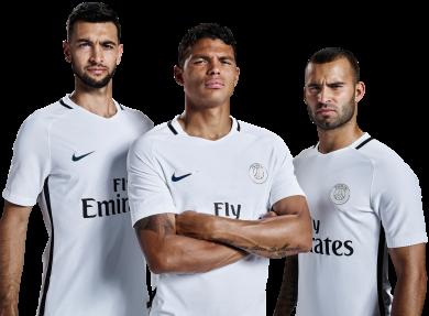 Thiago Silva, Jese Rodriguez & Javier Pastore