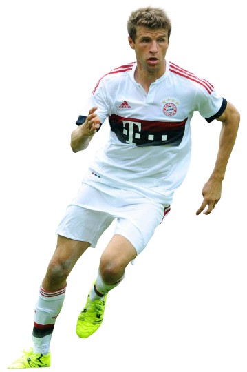 Thomas Muller football render - 15305 - FootyRenders