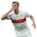 Timo Werner football render