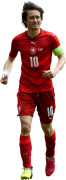 Tomas Rosicky football render