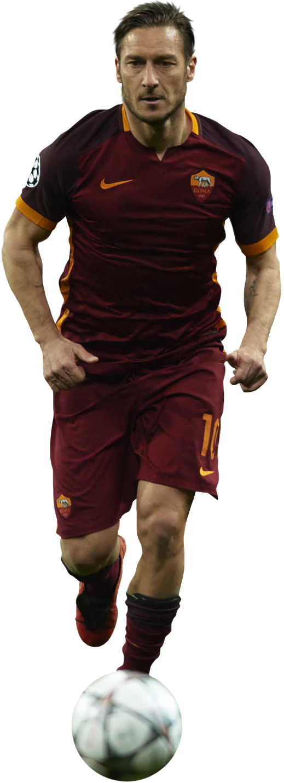 Francesco Totti football render - 23603 - FootyRenders