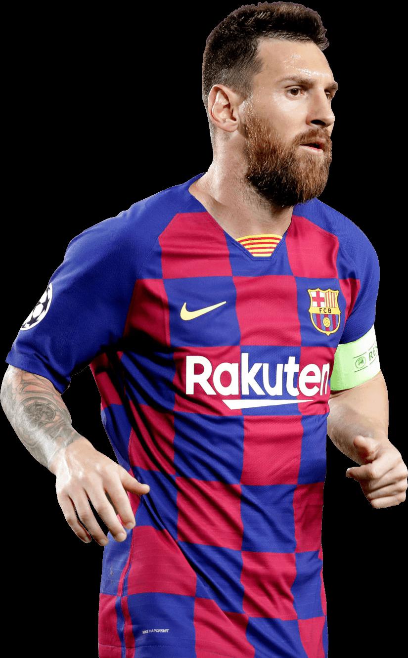 Lionel Messi football render - 60132 - FootyRenders