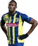 Usain Bolt football render