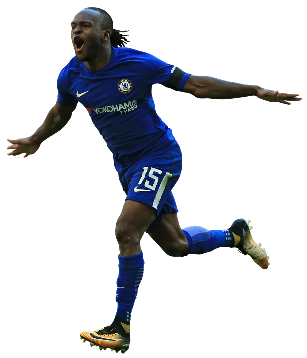Victor Moses Football Render