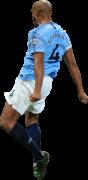 Vincent Kompany football render
