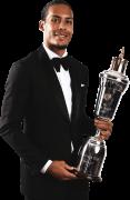 Virgil van Dijk PFA Player of the Year football render