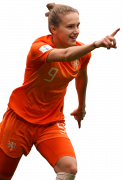 Vivianne Miedema football render