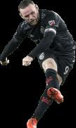 Wayne Rooney football render