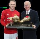 Wayne Rooney & Sir Bobby Charlton