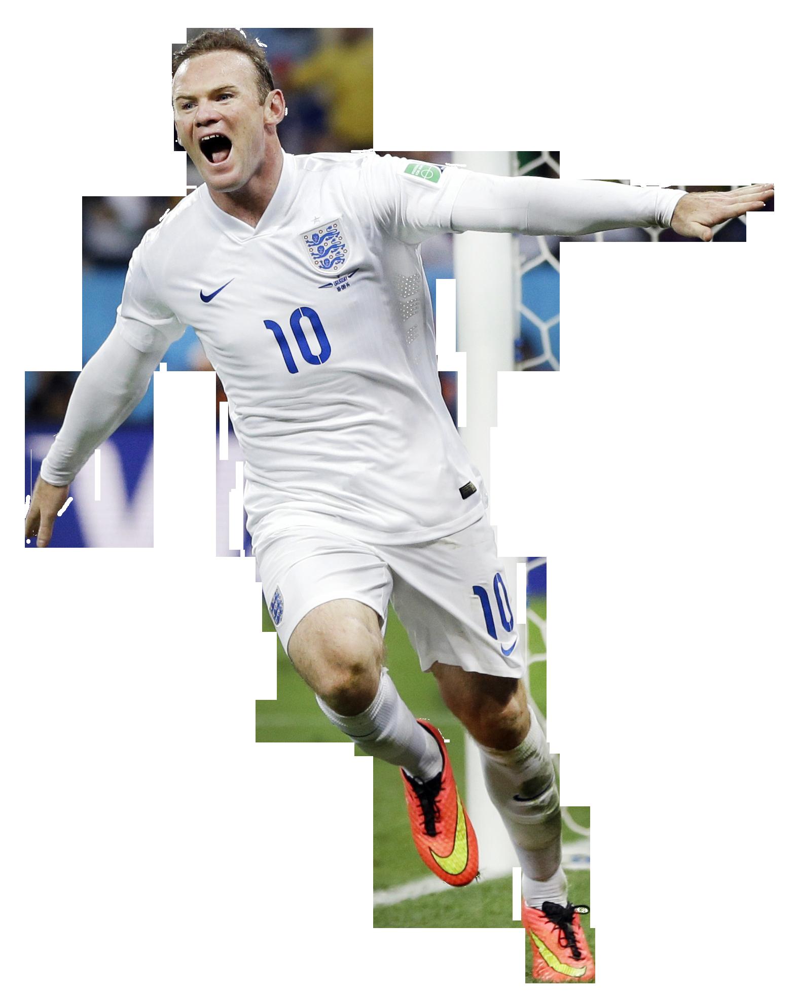 Wayne Rooney Render