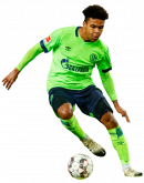 Weston McKennie football render