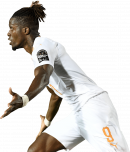 Wilfried Zaha football render
