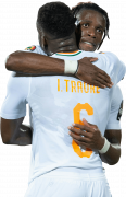 Ismael Traore & Wilfried Zaha football render
