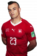 Xherdan Shaqiri football render