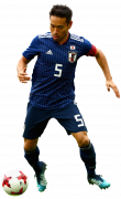 Yuto Nagatomo football render