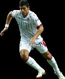 Ángel Zaldívar football render