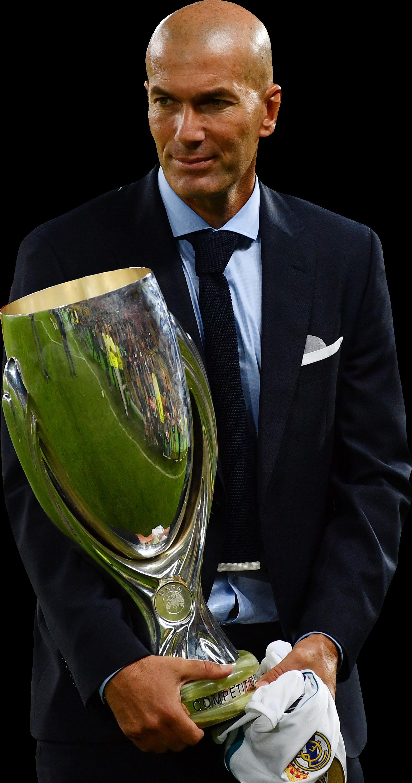 Zinedine Zidane football render FootyRenders