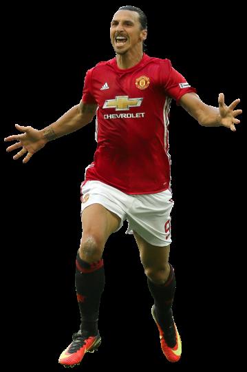 Zlatan Ibrahimovic football render  28597  FootyRenders