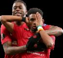 Aaron Wan-Bissaka & Amad Diallo football render