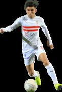 Achraf Bencharki football render