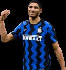 Achraf Hakimi football render