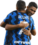 Achraf Hakimi & Alexis Sanchez football render