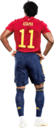 Adama Traoré football render