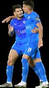 "Ahmed ""Zizo"" Sayed & Ashraf Bencharki football render"