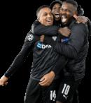 Alassane Plea, Breel Embolo & Marcus Thuram football render