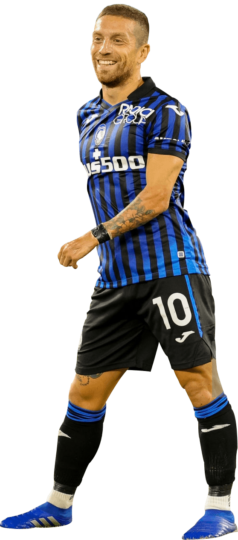 Alejandro Gomez football render - 72112 - FootyRenders