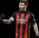 Alessio Romagnoli football render