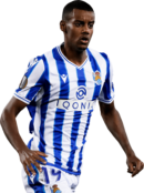 Alexander Isak football render