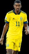 Alexander Isak football render