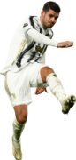 Alvaro Morata football render