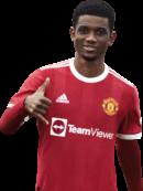 Amad Diallo football render
